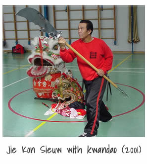 Jie Kon Sieuw with Kwan Dao