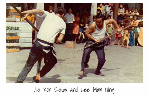 Jie Kon Sieuw and Lee Man Hing
