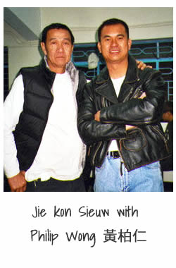 Jie Kon Sieuw with Philip Wong