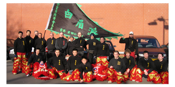 Pak Mei team ready for action to perform with Chinese New Year